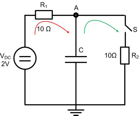 charging and discharging of capacitor project electric circuits capacitor charging and discharging physics stack exchange