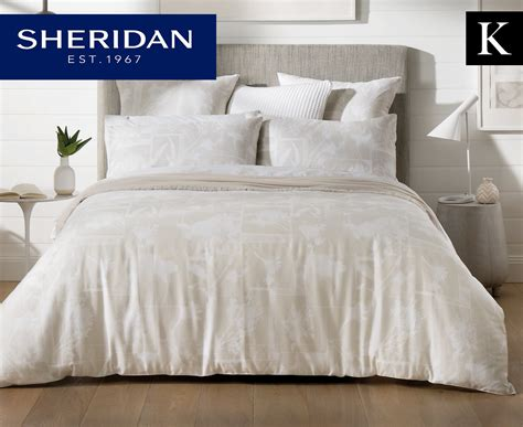 Bed Cover Set Impression Terragon Uk180160 impressions king bed quilt cover set sand great daily deals at australia s