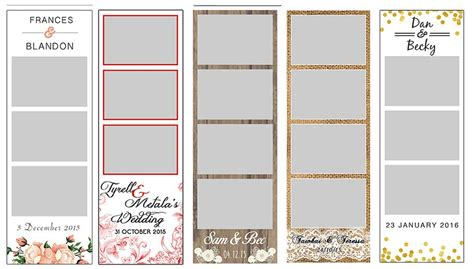 photobooth templates wedding photo booth hire classic photo booths photo