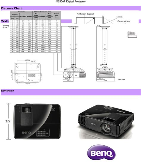 Proyektor Benq Ms506p benq ms506p digital projector placewell retail placewell retail