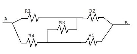 physics resistors in series and parallel problems electricity resistor circuit that isn t parallel or series physics stack exchange
