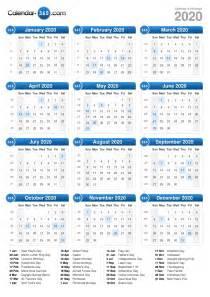 Calendar 2018 With Holidays Indonesia 2020 Calendar