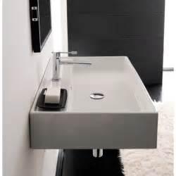 r sinks for bathrooms scarabeo 8031 r 80 bathroom sink teorema nameek s
