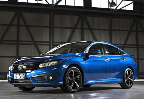 Car Types In Australia by 2016 Honda Civic Sedan Gets 1 8l In Australia Hatch And