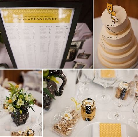 192 best images about honey bee theme wedding on yellow weddings wedding stickers