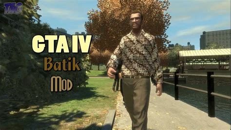 mod game gta indonesia gta iv batik indonesia mod youtube