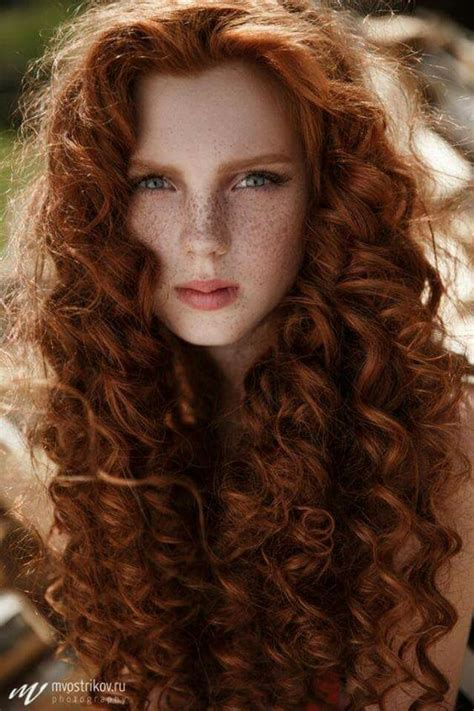 irish curly hair freckles redheads and hair on pinterest