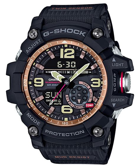 G Shock Gshock Gg 1100 Black Gold g shock gg 1000rg 1a and gn 1000rg 1a gold series
