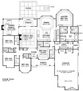 Floor Plans With Porches by Floorplan The House Plan 1411 Like Location Of