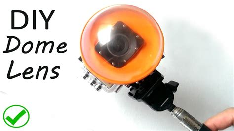 Dome Sjcam how to make dome lens for gopro or sjcam my crafts and diy projects