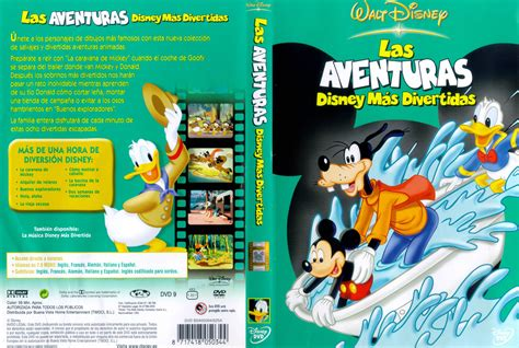 las divertidas aventuras de car 225 tula caratula de las aventuras disney mas divertidas classic cartoon favorites extreme