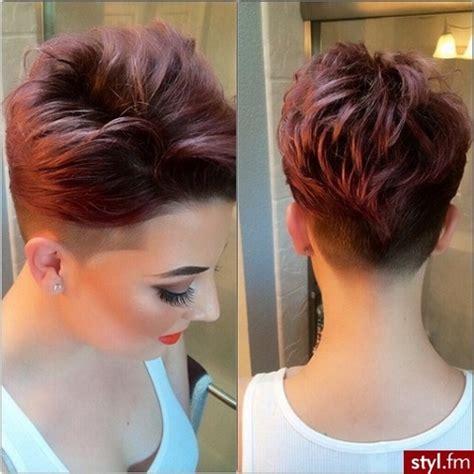 fryzury krótkie włosy 2018