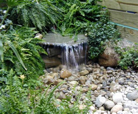diy backyard waterfall pondmaster diy pondless 700 waterfall kit water feature