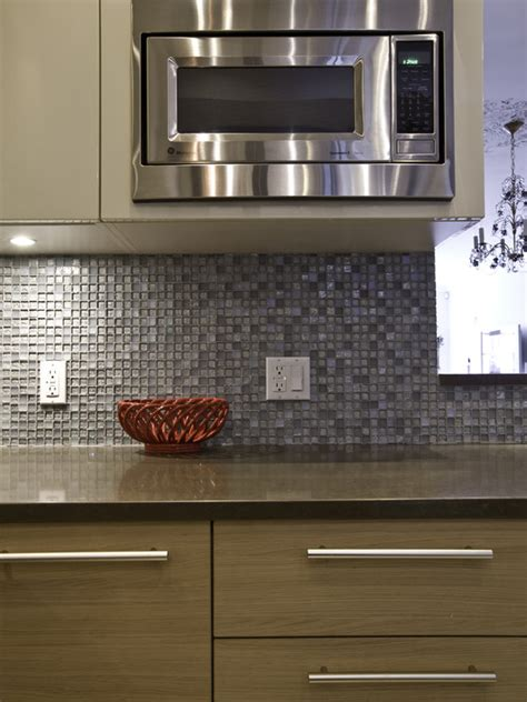 Mosaic Tile Kitchen Backsplash Shell Mosaic Tiles Black White Of Pearl Tile Backsplash