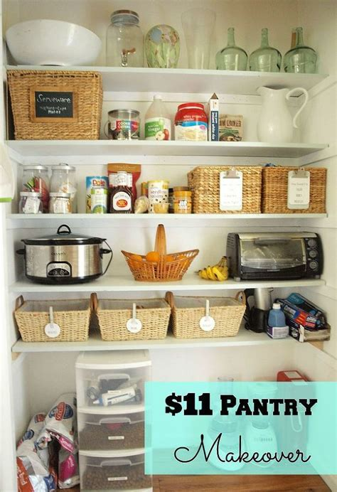 Kitchen Pantry Makeover by 11 Pantry Makeover