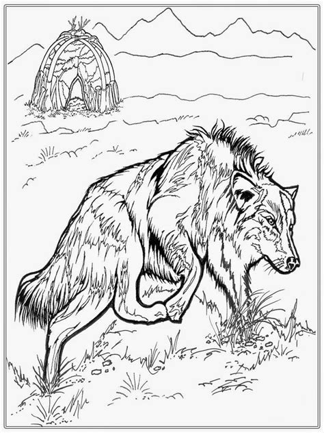 free realistic dog coloring pages