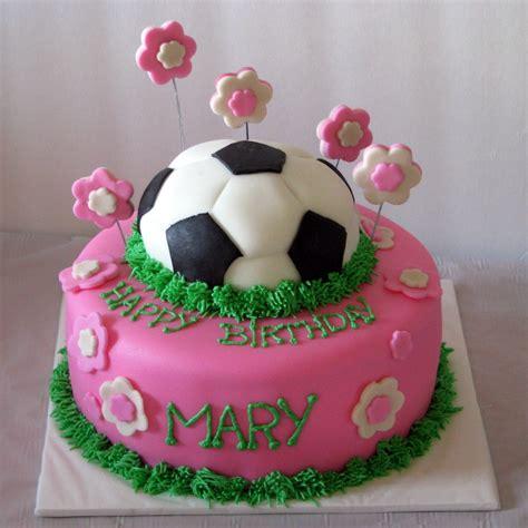 Soccer Birthday Cakes kdf creations girly soccer cake