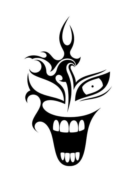 clown tattoo  nunodias  deviantart clown tattoo