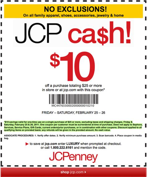 printable fossil outlet coupons printable coupon store jcpenney store coupon 10 off 25 in