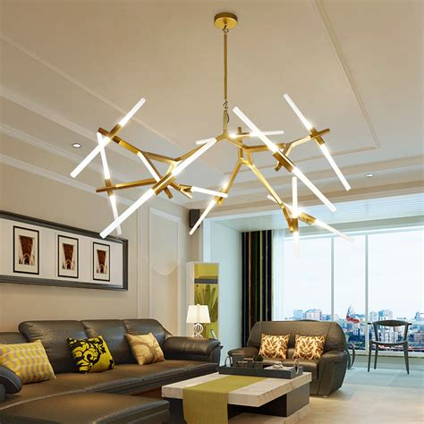 modern led chandelier for living room dining room - Led Kronleuchter Modern
