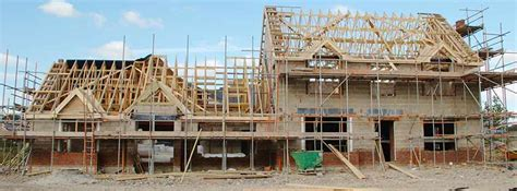 build a house house building suffers setback the planner