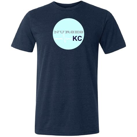 Kc Navy navy t shirt nurses kc