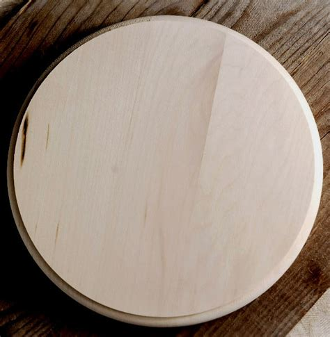 Walnut Hollow Plaque Basswood Circle 8x8 Quot