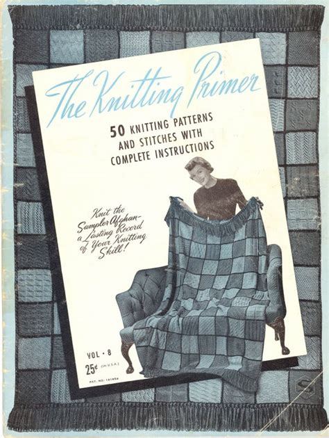 the pattern making primer book the knitting primer 50 knitting patterns and stitches with