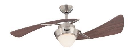 2 blade ceiling fan with light westinghouse 7214100 two light 48 inch two blade