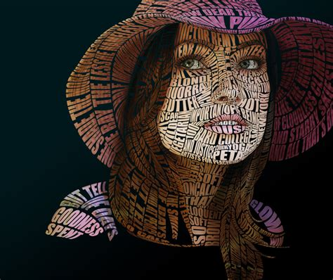 face typography tutorial photoshop cs5 olivia wilde typographic portrait by automaticize on