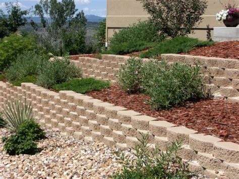 Curved Patio Pavers Keystone Garden Wall