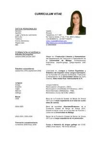 Imagenes De Curriculum Vitae En Espaã±ol   Resume Template
