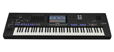 keyboard workstation tutorial yamaha announces genos next generation digital