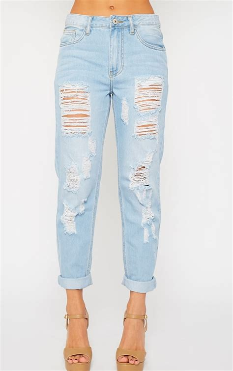 light wash jeans jocie light wash ripped boyfriend jeans jeans