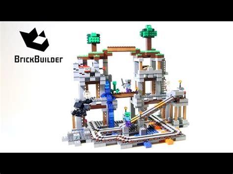 Lego 21118 Minecraft The Mine lego minecraft 21118 the mine lego speed build