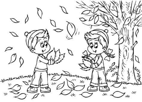 fall coloring pages for kids best coloring pages