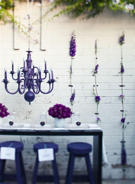 lustre violet comment adopter le lustre baroque dans l int 233 rieur de