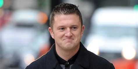tommy robinson former edl leader comes out in support of