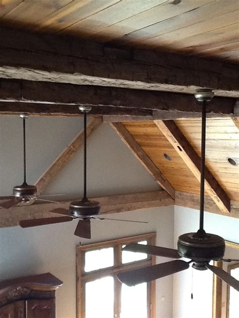 wood ceiling beams barnwood beams wood ceiling cabin kitchen pinterest