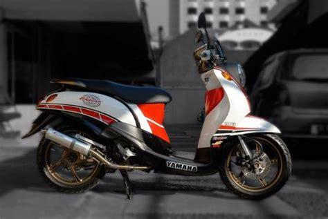 Roller Yamaha Mio Sporty modifikasi yamaha fino sporty retro modifikasi motor