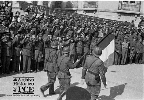 las brigadas internacionales retirada de las brigadas internacionales archivo hist 243 rico del pce