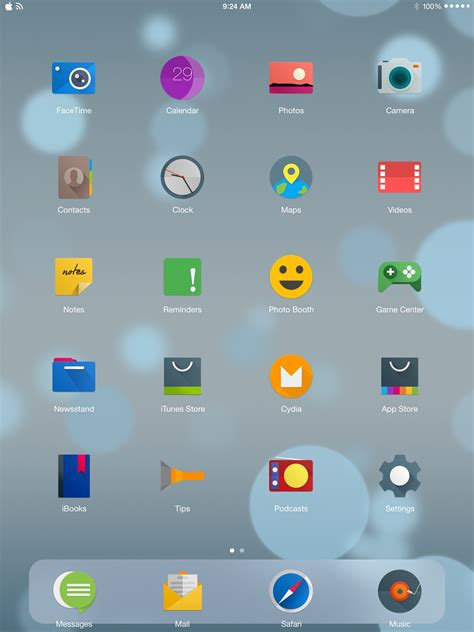 themes changer for ios 3 amazing themes that change ios icon shapes ioshacker