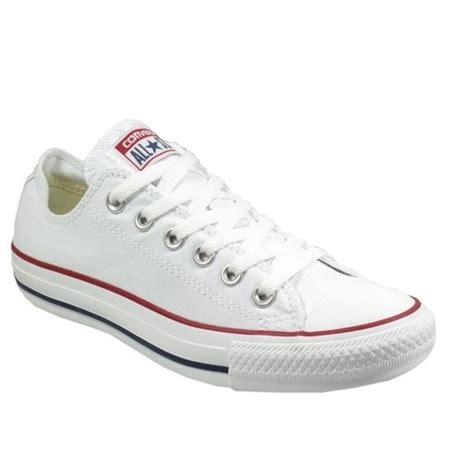 Converse Allstar White converse converse all ox optical white sc c3 unisex trainers converse from brands