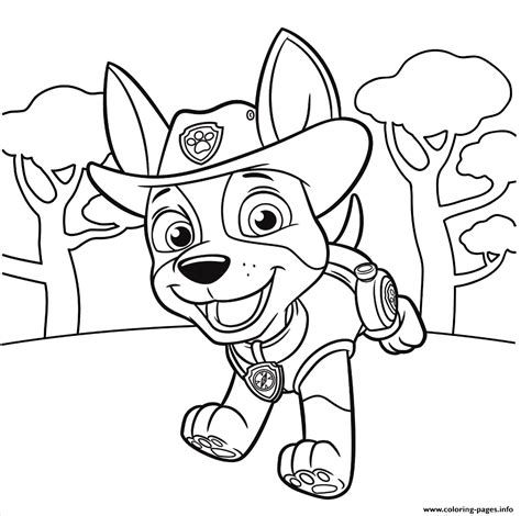 coloring paw patrol paw patrol coloring pages robo 20246