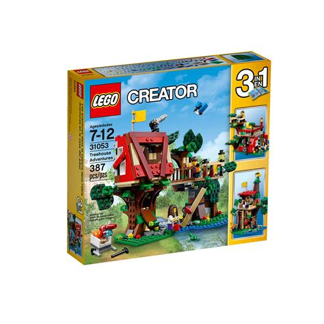lego 31053 creator treehouse adventures at hobby warehouse