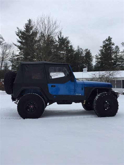 built jeep wrangler built 1992 jeep wrangler yj rock crawler lift lockers
