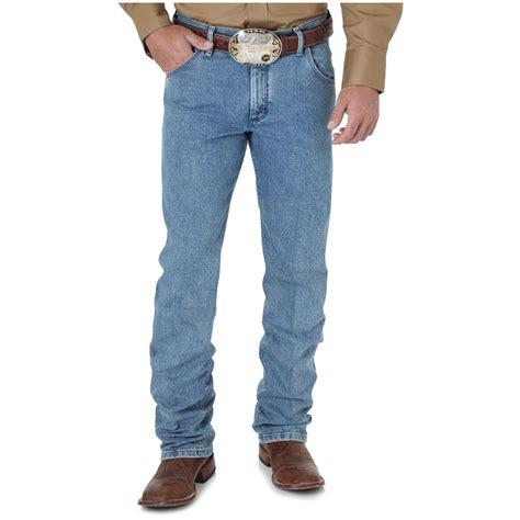 wrangler comfort fit jeans wrangler men s premium performance advanced comfort cowboy