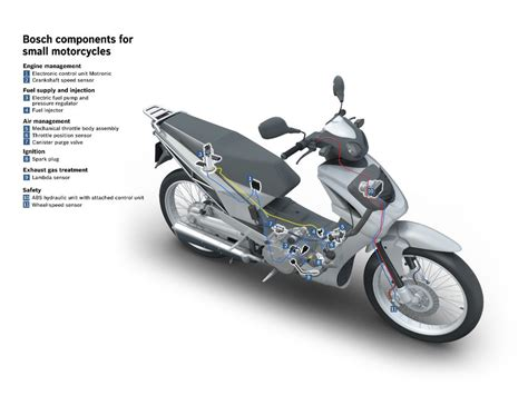 Bosch Electric Motor by Bosch Motorcycle Division To Work Independently