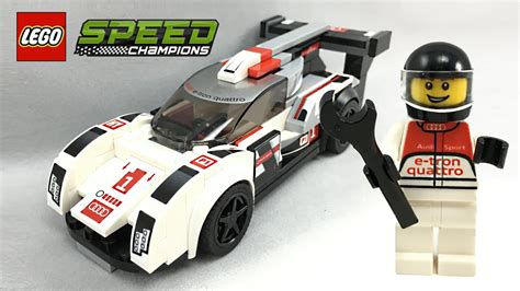 Lego Speed Chions 75872 Audi R18 E Quatro lego speed chions audi r18 e quattro set review