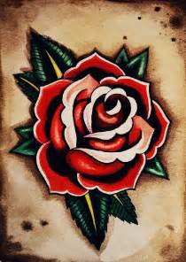 Old school rose tattoo designs for women tattoos pinterest